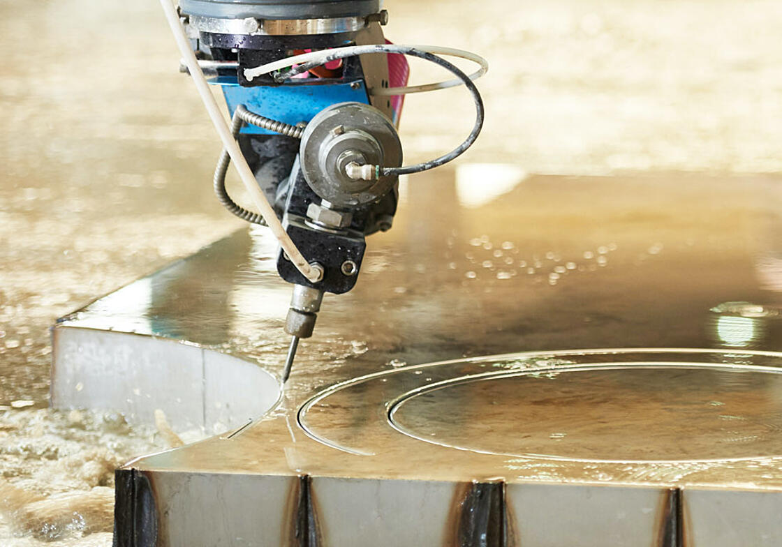 Cutting Titanium, Stainless Steel and other Specialty Alloys - Jet Edge