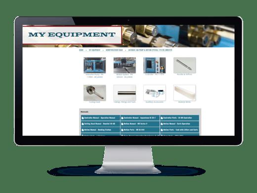 My Equipment Screenshot #2 - Jet Edge